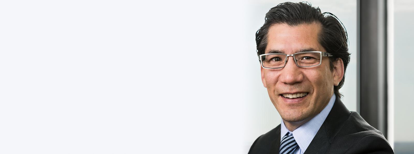 Photo of insurance defence lawyer Mitchell (Mitch) Kitagawa of Kelly Santini LLP in Ottawa
